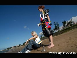 KH2 COS-3 beach2 by Akuhen