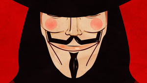 V FOR VENDETTA MINIMALISTIC by JSWoodhams