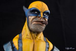 [Garage kit painting #01] Wolverine bust - 009 by DasArt