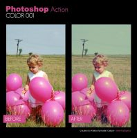 Photoshop Action - Color 001 by primaluce