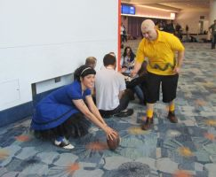 WC12-Lucy and Charlie Brown by moonymonster