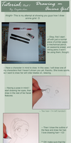 Drawing Tutorial - Anime Girls by kayoko-chan