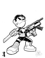 Lil Punisher by sketchinprican25