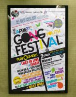 Gong Youth Festival Poster by MrLeEx