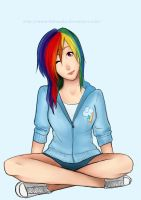 Rainbow Dash by bebouska