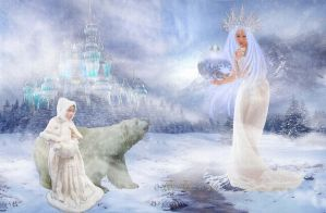 Snow Queen IV by ladyjudina