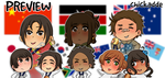 APH (Preview) | Olympic Champions by Chickadde1