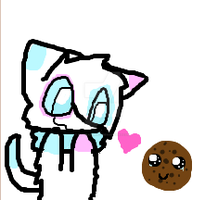 Leibi and the Cookie (iscribble) x3 by Blazeandkira