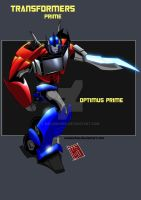optimus prime by melonchan