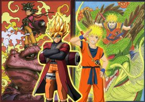 Dragon Ball Z X Naruto Shippuden DLC by SuperSaiyanCrash