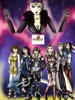 Final Fantasy VIII Poster by WhiteMageOfTermina