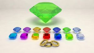 emeralds and rings by vsyiio2010