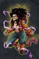 The Grown Up SS4 Gotenks that we never got!!! :( by scottssketches