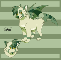 My first fursona ouo by PirateGirl-Tetra