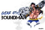 One Piece Chapter 784: Gear 4th BOUNDMAN!! by denzel94