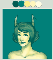 Kanaya color scheme challenge by Chiimai