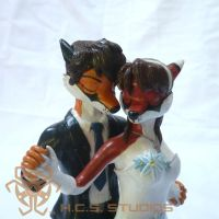 Scarlet and Will CakeTopper CM 4 by BlackHoleInAJar