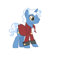 3rd Doctor Whooves Vector by TommyOliverDraws