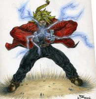 Ed Elric 2 colored by nickybeats