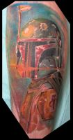 Boba Fett Tattoo by catbones