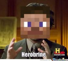 HEROBRINE by Ask-LordHerobrine