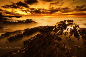 Seapoint at Sunset by somesoul