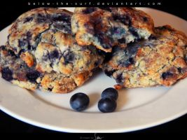 Blueberry Scones by below-the-surf
