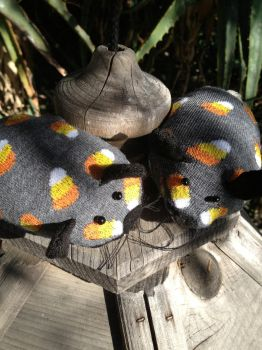 Renninger and Brach the Sock Mice by DianaArtimis