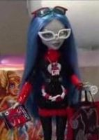 MH Ghoulia Comic-con Doll by mh-maria