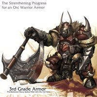 Orc warrior - 3rd Grade Armor by reaper78