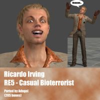 Ricardo Irving RE5 Casual Bioterrorist by Adngel