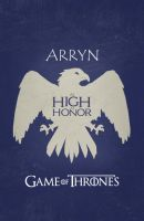 Game Of Thrones - Arryn by miserym