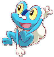 656 Froakie by SarahRichford