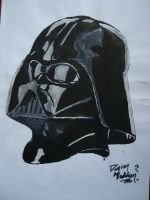 Darth in Acrylic by Nevusien