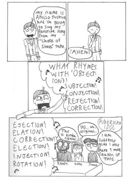 What rhymes with OBJECTION? by pwii42