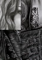 Details Princess Anna drawing by WitchiArt