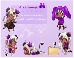 shimeji Ari -commission- by Next--LVL