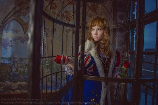 Macoto Takahashi: Beauty and the Beast cosplay by Lyumos