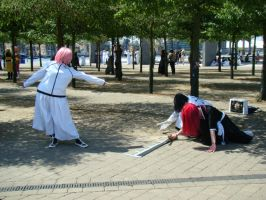 Szayel vs. Ishida and Renji by regasssa
