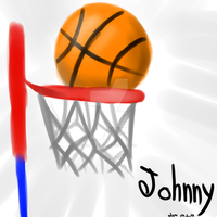 Basketball Sketch, For a friend by LilachSigal