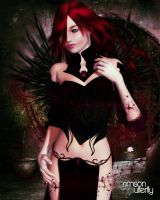 Crimson Butterfly - Dark Magic by LadyXiahou