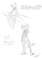 Elh Melizee Roughs by Shingo-Hayasa
