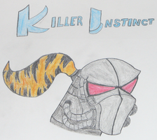 Killer Instinct Fulgore Drawing. by conkeronine
