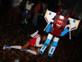 MC 2013 - Humanoid Starscream and Starscream 2 by vincent-h-nguyen