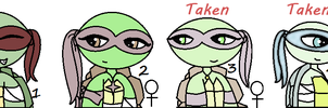 Tmnt adopts 5 ^^: Closed by AlyssaThePikachu