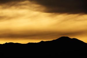 Molten sky by orographic