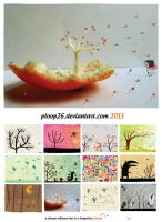 Of wind and hearts, 2013 calendar by nicolas-gouny-art
