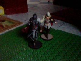 Assassin's Creed Figurine's by kingfret