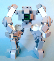 Lego mech: Codename O.G.R.E. by hiddenderek69