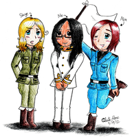 Real Life Fem!Axis Powers by PastaNotWar